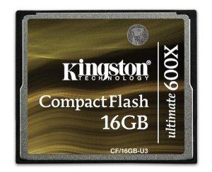 Kingston CF/16GB-U3 Carte CompactFlash Ultimate 600x – 16 Go