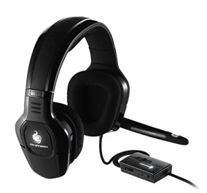 Cooler Master – SGH-4650-KC3D1- Sirus C Casque Gaming 'LED Blanche- Contrôle du volume / microphone- 2.2 Channel- 44mm Drivers'
