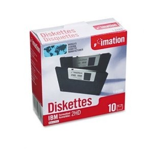 Imation Clé: 8,9cm disquettes, ibm-formatted, DS/HD, 10/Boîte –:-vendu par lot de 2–10–/– total de 20chaque
