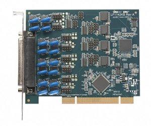 Axxon LF1142KB Universel PCI vers 4 Ports RS422/485 Isolation Galvanique (industriel) Host Adapter w/ Quadplex Câble 91,4 cm DB37-DB25M-4