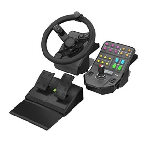 Logitech G Farming Simulator, ensemble pour engins agricoles (rotation à 900 degrés, volant programmable)