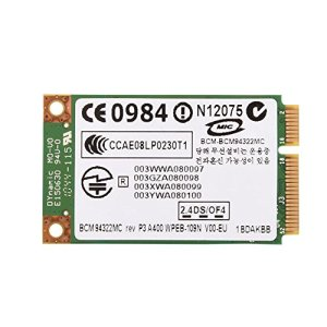 Richer-R Carte sans Fil Professionnelle, Mini PCI-E WiFi 2.4G + 5G Dual-Band pour HP/Mac / Dell/Acer