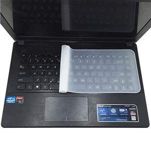 Aofocy 1 Pcs Pratique et Pratique Ordinateur Portable Premium Clavier Couverture Soft-Touch Silicone Film De Protection pour 14 'Ordinateur Portable