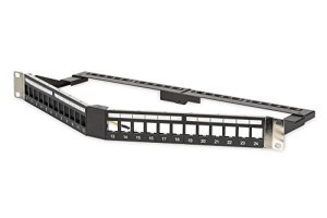 Digitus Professional DN de 91414s dreiwinklig modulaire Patch Panel Noir