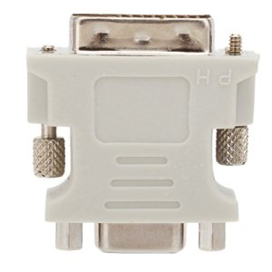 DVI-D (24+ 1) dual link mâle vers VGA HD15femelle adaptateur convertisseur pour PC/ordinateur portable