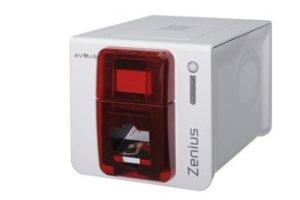 Evolis Zenius Expert, single sided 300dpi, USB, Ethernet, smart, ZN1H0ELYRS (300dpi, USB, Ethernet, smart incl.: smartcard writer, card feeding, RFID (read/write) PSU, cable)