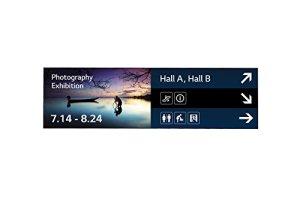 LG 88BH7D 2,24 m (88″) Panorama Design Noir – Affichages de Messages (2,24 m (88″), 3840 x 1080 Pixels, 700 CD/m², 8 ms, 1100:1, 500000:1)