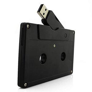 Unique et Fantaisie en Forme de Cassette Audio USB 2.0Flash Drive Cool Pen Drive Clé USB Mignon Memory Stick U Disque Cadeau 32 Go Noir