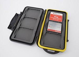 Ares Foto® Boîtier de protection pour cartes mémoire pour 6 CF Cards (Compact Flash) – New Edition 2017