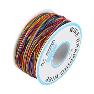 Câble Souple Et Isolant,Rouleau De Câble Electrique – 280M 30Awg 8 Fils