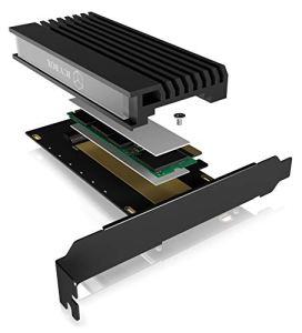 ICY BOX IB-PCI214M2-HSL Carte et Adaptateur d'interfaces Interne M.2 – Cartes et adaptateurs d'interfaces (PCIe, M.2, Noir, 32 Gbit/s, Passif, Chine)