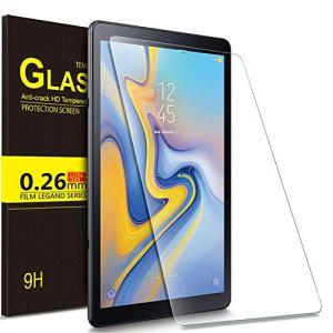 IVSO Samsung Galaxy Tab A 10.5 SM-T590/T595 Protection écran, Protecteur d'Ecran en Vitre Tempered pour Samsung Galaxy Tab A SM-T590/SM-T595 10.5 2018 Tablette (1 Pack)
