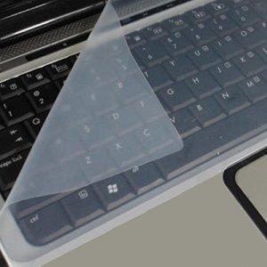 Oyedens Universal Protection de clavier en silicone pour ordinateur portable 38,1 – 44 cm (15 – 17,3 pouces)