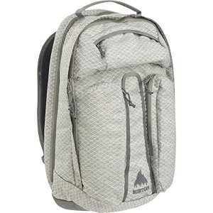 Burton Metro Sac à dos, Homme, Grey Heather Diamond Ripstop