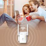 Cudy Répéteur WiFi RE300, 300 Mbps, WPS, amplificateur Wi-FI, 2 Ports, WPS, Mode AP, Compatible avec Tous Les routeurs WiFi Courants, Firmware Français, Blanc (RE300)