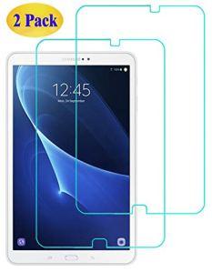 Eachy Verre Trempé Samsung Galaxy Tab A 10.1, [2 Pièces] Film Protection Samsung Galaxy Tab A6 10.1 (SM-T580/T585) Protection d'écran Protecteur Vitre 10.1 Pouces [ANTI RAYURES] [SANS BULLES]