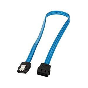 7pin Bleu Homme sur le disque dur Disque dur SATA Femme de données Extension Cable 40cm