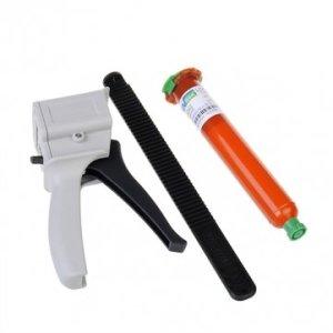 Bheema UV pistolet à colle LOCA liquide optique adhésif transparent Gun