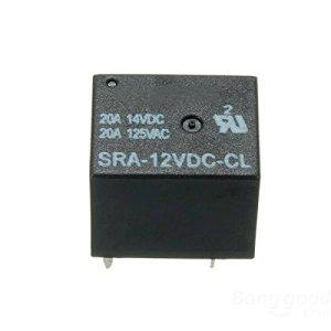 Calli 5 broches relais 12V DC puissance de la bobine 20a relais sra – 12v – cl
