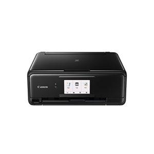 Canon PIXMA TS8150 4800 x 1200DPI Jet d'encre A4 WiFi – Multifonctions (Jet d'encre, Impression Couleur, 4800 x 1200 DPI, A4, Impression directe, Noir)