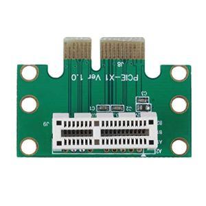 Delicacydex Haute qualité PCI-E PCI Express 1X Adaptateur Carte Riser 90 Degrés pour 1U Serveur Châssis Numérique Chaude