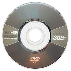 Maxell Lot de 2 Mini disques DVD-RW Vierges 8 cm Gris métallisé (4 x 30 Min 1,4 Go)