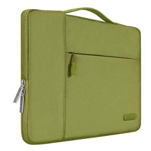 MOSISO 13-13,3 Pouces Housse Compatible MacBook Air 13/MacBook Pro Retina 13/MacBook Pro 13 avec CD-Rom, Laptop Sleeve Multifonctionnel Sac à Main en Polyester, Capulet Olive