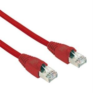 Schwaiger RJ45 – RJ45 Cat5 10 m câble de réseau U/FTP (STP) Rouge – Câbles de réseau (10 m, Cat5, U/FTP (STP), RJ-45, RJ-45, Rouge)