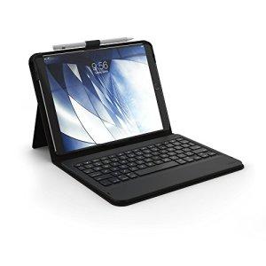 ZAGG Messenger Étui à Rabat avec Clavier Bluetooth Non rétroéclairé pour Apple iPad Pro 10.5 Noir