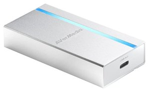 AVerMedia ExtremeCap UVC, Carte de Capture HDMI vers USB 3.0, Enregistre, Stream Vidéo Full HD Non Compressée Video en 1080p60, Pas de Driver, Compatible Windows, Mac, et Linux (BU110)