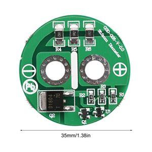 Comomingo Câble en Y pour guitare, 5 pieds, plaqué or, mâle 6.35mm TRS stéréo vers double, câble audio splitter mâle 2 x 6.35mm TS mono