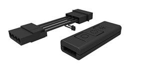 Cooler Master – RGB Controller C10L – Gestion Eclairage RGB (sans Carte Mère Compatible) – 6 Modes, 7 Couleurs