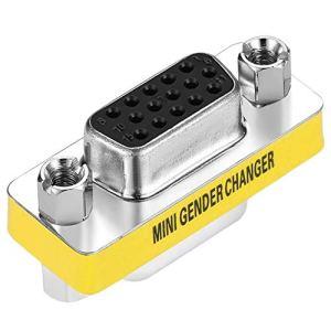 Designer Nouveau Femelle à Femelle VGA HD15 Pin Gender Changer Adaptateur en Stock Convertor