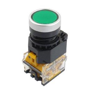 DealMux 415V 10A Vert, Momentary Push Button 22 mm 2 NC-Schalter