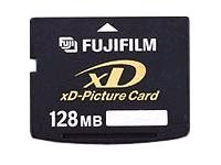 FUJIFILM Carte XD Picture Card (XD) Carte Mémoire Flash 128 Mo
