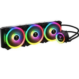 GAMDIAS Raff.Liquide Chione P2-360R 4 x Fan RGB Télécommande + Logiciel Sync