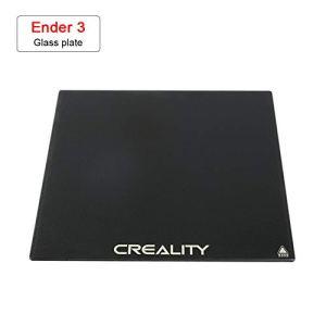 Sovol Heat Bed Lit chauffant Verre Plateformes 235 x 235 mm pour Creality imprimante 3D Ender 3 / 3X / 3 Pro, CR 20