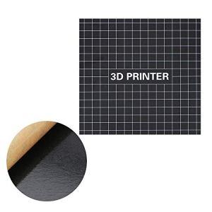 Aibecy 400 * 400mm impression 3D surface de construction Heatbed plate-forme imprimer feuille de bande de lit pour CR-10S 3D imprimante accessoires