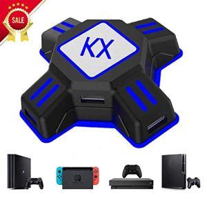 Codream Convertisseur Adaptateur Souris/Clavier, Adaptateur de Jeu PS4 Convient pour Xbox One, Switch, PS3, PC, Compatible avec PUBG et H1Z1