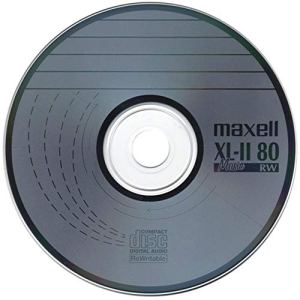 Maxell Lot de 100 disques Vierges Anti-Rayures pour CD-RW XL-II