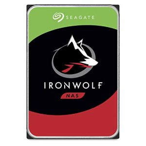 Seagate 12 TB IronWolf Disque dur interne 3.5″ pour NAS 1-8 Bay (7200 RPM, 256 MB Cache, 180 TB/year Workload Rating, Up to 210 MB/s, Model : ST12000VNZ007/VN0007)