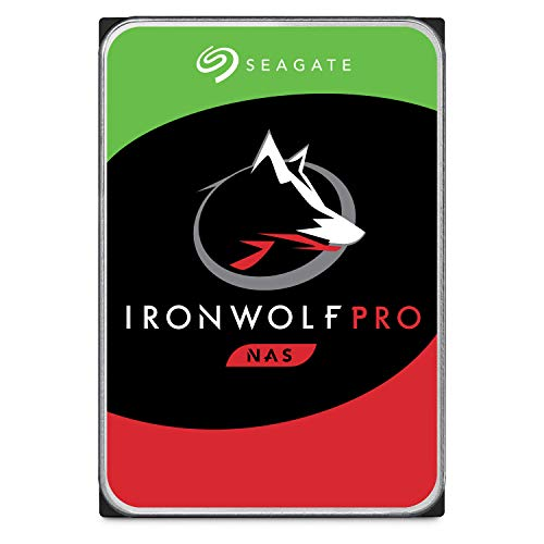 Seagate 14 TB IronWolf Pro Disque dur interne 3.5″ pour NAS 1-8 Bay (7200 RPM, 256 MB Cache, 300 TB/year Workload Rating, Up to 214 MB/s, Model: ST14000VNZ008/VN0008