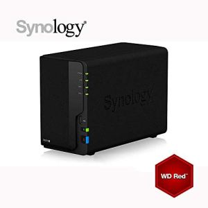Synology DS218+ 6Go NAS 16To (2x 8To) WD RED