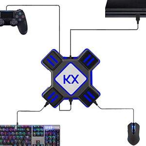 Volwco Convertisseur de Souris/Clavier pour Ps4,Xbox One, Switch, PS3, PC
