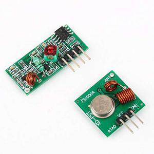 Zinniaya Kit de Liaison émetteur et récepteur RF pour télécommande Arduino/Arm/MC U
