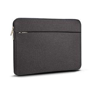 A Tailor Bird Housse de Protection Ordinateur 15.6″, Pochette PC Portable Ultrabook Sacoche Laptop Compatible 15.6 Pouces – Noir