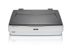 Epson Expression 12000XL Numérisation à Plat 2400 x 4800DPI A3 Gris, Blanc – Scanners (310 x 437 mm, 2400 x 4800 DPI, 16 bit, 48 bit, 48 bit, 12 Sec/Page)