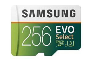 Samsung MB-ME32GA/AM Carte mémoire MicroSDHC Evo Select avec Adaptateur 32Go Carte et Adaptateur Uniquement 256 Go