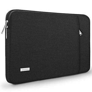 TECOOL 13 Pouces Housse pour Ordinateur Portable, Pochette de Protection Sacoche Étui pour 2018 2019 MacBook Air 13 Retina A1932, 2016-2019 MacBook Pro 13, Dell XPS 13, Noir