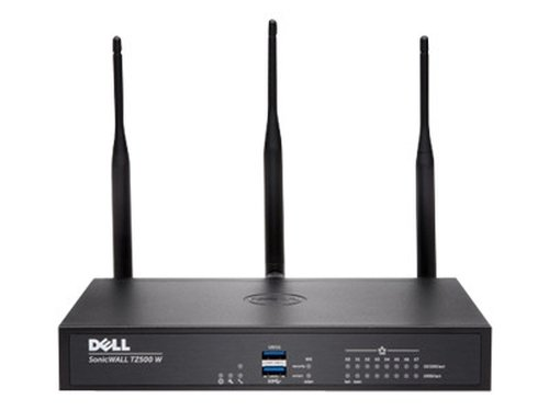 SonicWall TZ500 pare-feux (matériel) 1400 Mbit/s – Pare-feux (matériel) (1400 Mbit/s, 1000 Mbit/s, 1000 Mbit/s, 1000 Mbit/s, 1000 MHz, FCC, ICES, CE, LVD, RoHS, C-Tick, VCCI, UL, cUL, TUV/GS, CB, CoC, WEEE, REACH, BSMI)